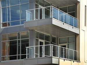 Balcony Glass and Stainless Steel Rails in Lagos. Rolabik Ventures Limited