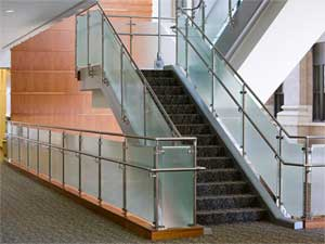 Glass Stainless Steel Rails in Lagos. Rolabik Ventures Limited